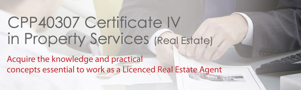 Certificate IV in Property Services (Real Estate Courses)-VIC0